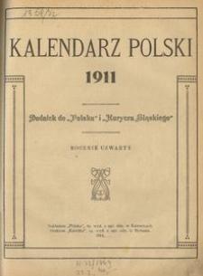 Kalendarz Polski 1911, R. 4