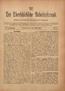 Der Oberschlesische Arbeiterfreund, 1906/1907, Jg. 7, No 10