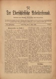 Der Oberschlesische Arbeiterfreund, 1906/1907, Jg. 7, No 13