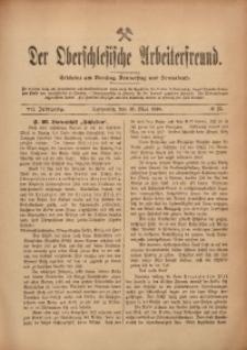 Der Oberschlesische Arbeiterfreund, 1906/1907, Jg. 7, No 25