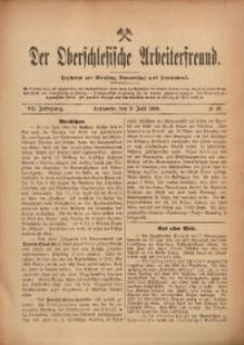 Der Oberschlesische Arbeiterfreund, 1906/1907, Jg. 7, No 38