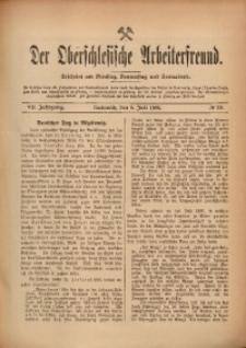Der Oberschlesische Arbeiterfreund, 1906/1907, Jg. 7, No 39