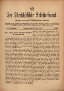 Der Oberschlesische Arbeiterfreund, 1906/1907, Jg. 7, No 44