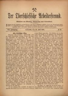 Der Oberschlesische Arbeiterfreund, 1906/1907, Jg. 7, No 45