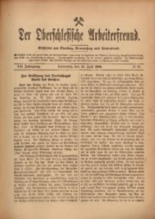 Der Oberschlesische Arbeiterfreund, 1906/1907, Jg. 7, No 47