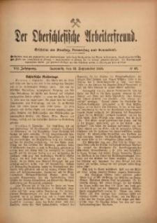 Der Oberschlesische Arbeiterfreund, 1906/1907, Jg. 7, No 69