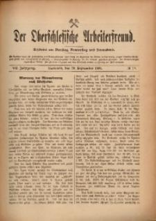 Der Oberschlesische Arbeiterfreund, 1906/1907, Jg. 7, No 76