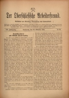 Der Oberschlesische Arbeiterfreund, 1906/1907, Jg. 7, No 89