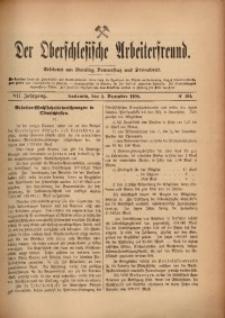 Der Oberschlesische Arbeiterfreund, 1906/1907, Jg. 7, No 104