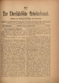 Der Oberschlesische Arbeiterfreund, 1906/1907, Jg. 7, No 116