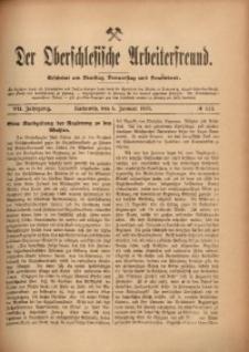 Der Oberschlesische Arbeiterfreund, 1906/1907, Jg. 7, No 117