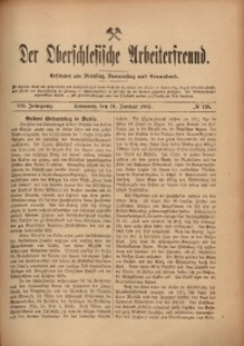 Der Oberschlesische Arbeiterfreund, 1906/1907, Jg. 7, No 128