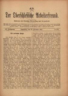 Der Oberschlesische Arbeiterfreund, 1906/1907, Jg. 7, No 138
