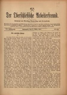 Der Oberschlesische Arbeiterfreund, 1906/1907, Jg. 7, No 142