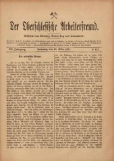 Der Oberschlesische Arbeiterfreund, 1906/1907, Jg. 7, No 147