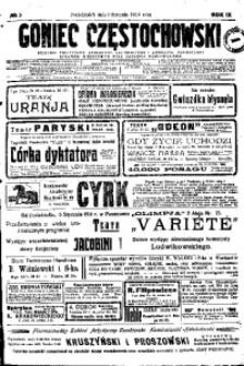 Goniec Częstochowski, 1914, R. 9, No 5