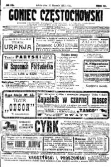 Goniec Częstochowski, 1914, R. 9, No 10