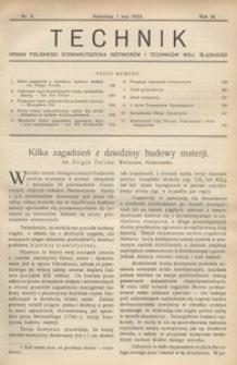 Technik, 1933, R. 6, nr 5