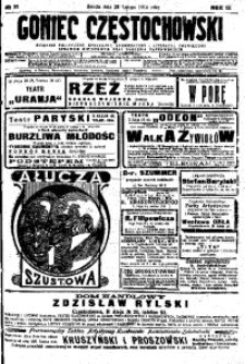 Goniec Częstochowski, 1914, R. 9, No 55