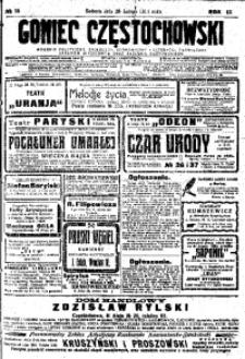 Goniec Częstochowski, 1914, R. 9, No 58