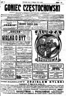 Goniec Częstochowski, 1914, R. 9, No 61
