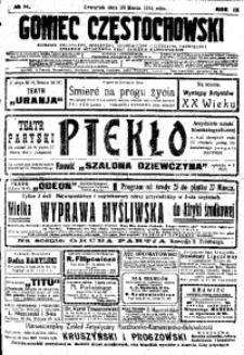 Goniec Częstochowski, 1914, R. 9, No 84