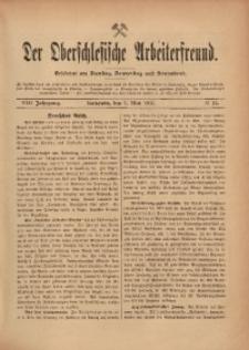 Der Oberschlesische Arbeiterfreund, 1907/1908, Jg. 8, No 15