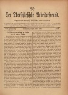 Der Oberschlesische Arbeiterfreund, 1907/1908, Jg. 8, No 16