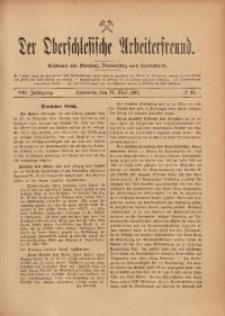 Der Oberschlesische Arbeiterfreund, 1907/1908, Jg. 8, No 23