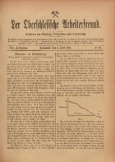 Der Oberschlesische Arbeiterfreund, 1907/1908, Jg. 8, No 39