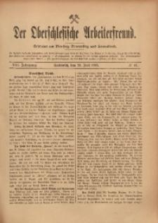 Der Oberschlesische Arbeiterfreund, 1907/1908, Jg. 8, No 47