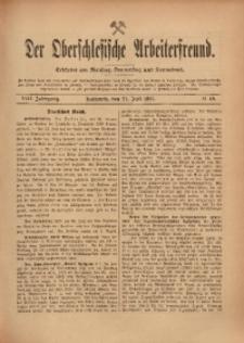 Der Oberschlesische Arbeiterfreund, 1907/1908, Jg. 8, No 49