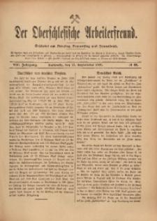 Der Oberschlesische Arbeiterfreund, 1907/1908, Jg. 8, No 69