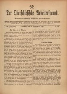 Der Oberschlesische Arbeiterfreund, 1907/1908, Jg. 8, No 70