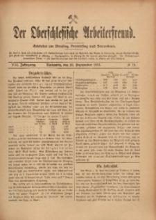 Der Oberschlesische Arbeiterfreund, 1907/1908, Jg. 8, No 74
