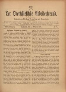 Der Oberschlesische Arbeiterfreund, 1907/1908, Jg. 8, No 77