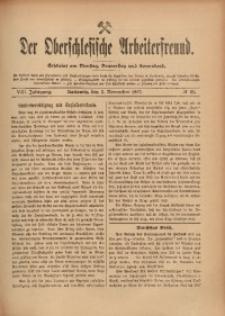 Der Oberschlesische Arbeiterfreund, 1907/1908, Jg. 8, No 91