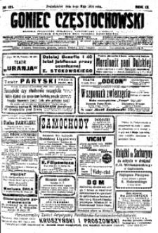 Goniec Częstochowski, 1914, R. 9, No 121