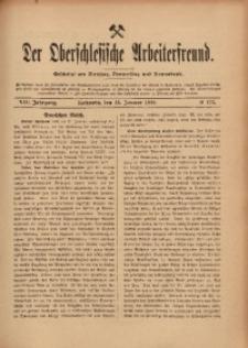 Der Oberschlesische Arbeiterfreund, 1907/1908, Jg. 8, No 122