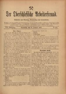 Der Oberschlesische Arbeiterfreund, 1907/1908, Jg. 8, No 124