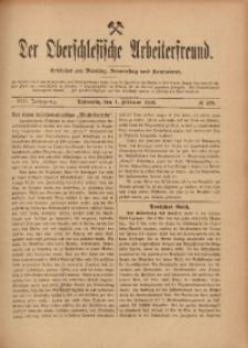 Der Oberschlesische Arbeiterfreund, 1907/1908, Jg. 8, No 129