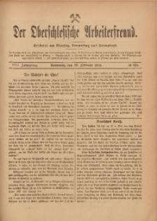 Der Oberschlesische Arbeiterfreund, 1907/1908, Jg. 8, No 138