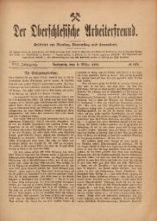 Der Oberschlesische Arbeiterfreund, 1907/1908, Jg. 8, No 142