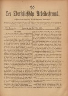 Der Oberschlesische Arbeiterfreund, 1907/1908, Jg. 8, No 146