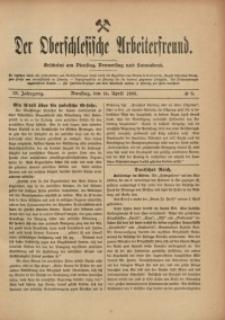 Der Oberschlesische Arbeiterfreund, 1908/1909, Jg. 9, No 6