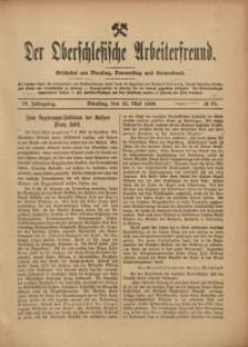 Der Oberschlesische Arbeiterfreund, 1908/1909, Jg. 9, No 17