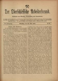 Der Oberschlesische Arbeiterfreund, 1908/1909, Jg. 9, No 23