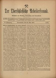 Der Oberschlesische Arbeiterfreund, 1908/1909, Jg. 9, No 25