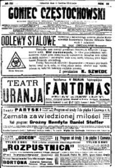 Goniec Częstochowski, 1914, R. 9, No 151