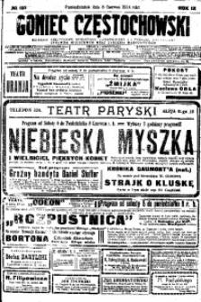 Goniec Częstochowski, 1914, R. 9, No 155